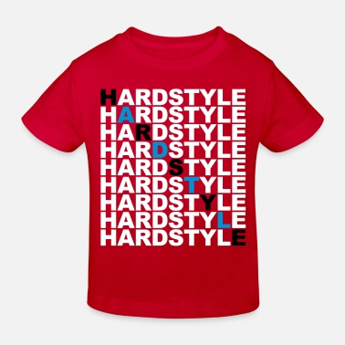 Hardstyle Clothing Hardstyle List - Kinderen Bio-T-shirt