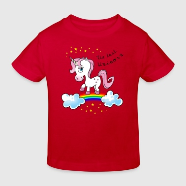 the last unicorn einhorn - Kinder Bio-T-Shirt