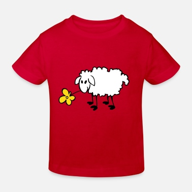 Sheep flower sheep - Kids' Organic T-Shirt