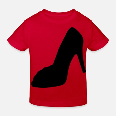 Highheels shoe - highheel - Ekologisk T-shirt barn