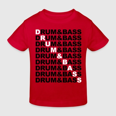 Bass Drum Drum & Bass - Kids' Organic T-Shirt