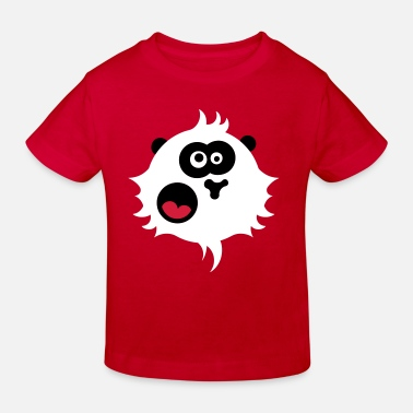 Panda power - Kinderen bio T-shirt