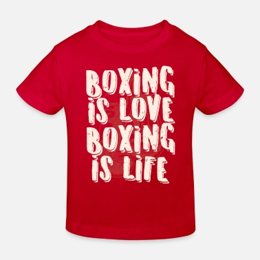 Sports Boxing gloves sweet cool gift - Kids' Organic T-Shirt