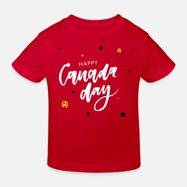 Canada Happy Canada Day - T-shirt bio Enfant