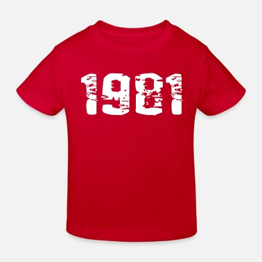 Year Of Birth Year of birth - Kids' Organic T-Shirt