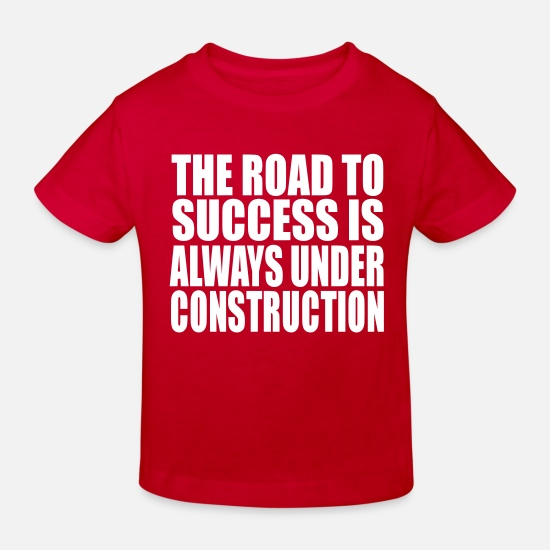 The Office Baby Clothes - the road - Kids' Organic T-Shirt red