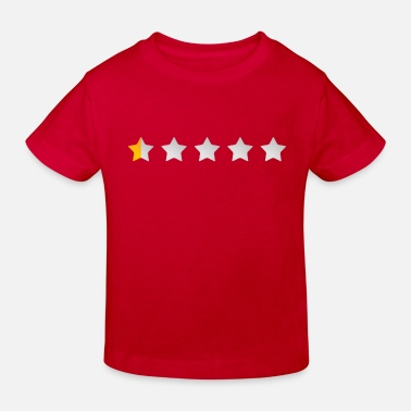 half star - Kids' Organic T-Shirt