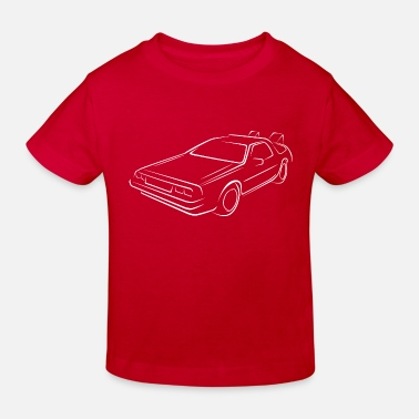 Future Sketch back to the future - Kids' Organic T-Shirt