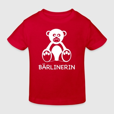 T-shirt Berlin / Bärliner  - Kinder Bio-T-Shirt