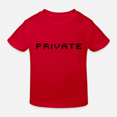 Privateer private - Kids' Organic T-Shirt
