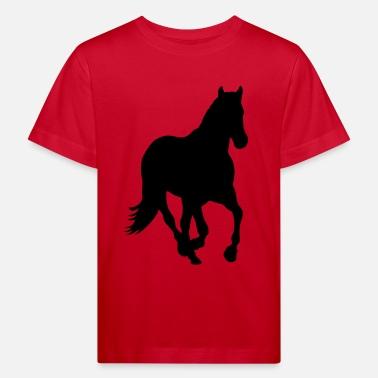 379d0fcd3 Cheval poney cavalier sauvage T-shirt Ado   Spreadshirt