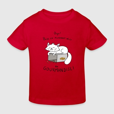 Gourmande - T-shirt bio Enfant