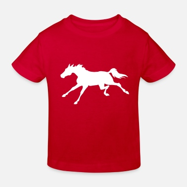 Gallop Galloping Horse - Kids' Organic T-Shirt