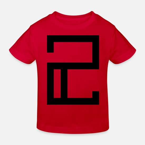 Symbol  Baby Clothes - 2 - Kids' Organic T-Shirt red