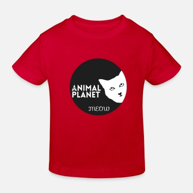 Animal Planet Animal planet MEWO | Geschenk - Kinder Bio T-Shirt