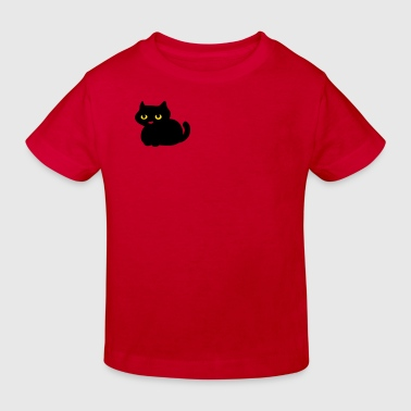 cute kitten by Patjila - Kinderen Bio-T-shirt