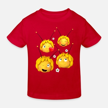 Biene Biene Maja Emotionen - Kinder Bio T-Shirt