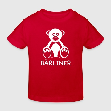 T-shirt Berlin / Bärliner - Brandenburg (Boys) - Kinder Bio-T-Shirt