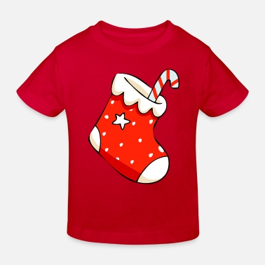 Christmas Christmas Stocking - Camiseta orgánica niño