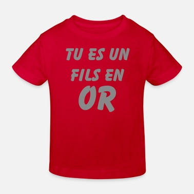 Or fils or - T-shirt bio Enfant