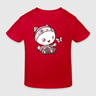 Puni Schmetterling - Kinder Bio-T-Shirt