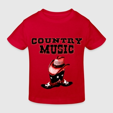 country music - Ekologisk T-shirt barn
