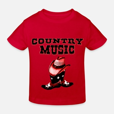 Country country music - Ekologisk T-shirt barn