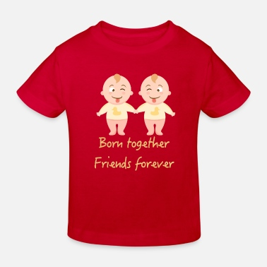 Twins boys, twin boys, twin gift - Kids' Organic T-Shirt