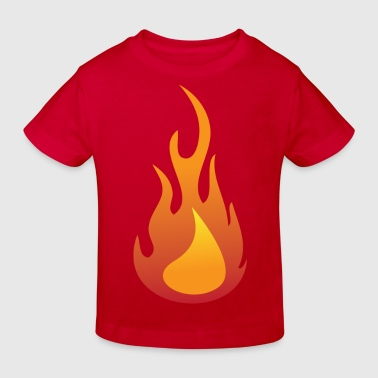 Fire / Flame - Kids' Organic T-shirt