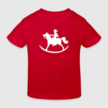 Rocking Horse Girl - Kinder Bio-T-Shirt