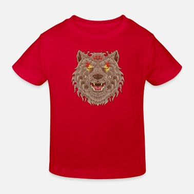 Tatoo WOLF TATOO - Kinder Bio T-Shirt