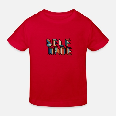 Retro Selfmade - Homemade - Retro Vingate Graffiti - Kids' Organic T-Shirt