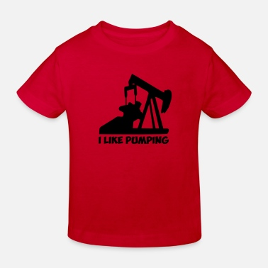 Pump pumping - Kids' Organic T-Shirt