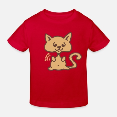 Chaton Cat - Kids' Organic T-Shirt