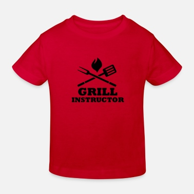 Grill Instructor Grill Instructor - Kinder Bio T-Shirt