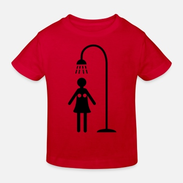 Showers shower - Kids' Organic T-Shirt