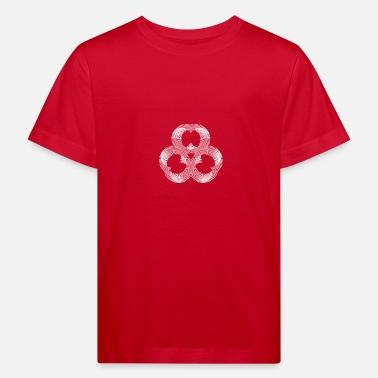 dd41dfb15 Patrón Mandala ilusión líneas de yoga patrón zen regalo - Camiseta orgánica  niño