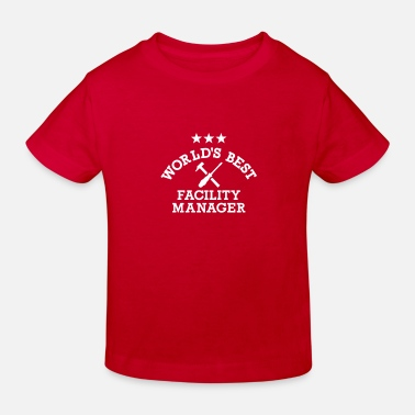 Manager Facility Manager - T-shirt bio Enfant