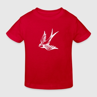 swallow bird summer wings - Kids' Organic T-shirt