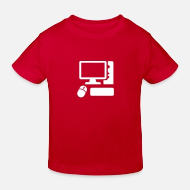Ordinateur Ordinateur - T-shirt bio Enfant