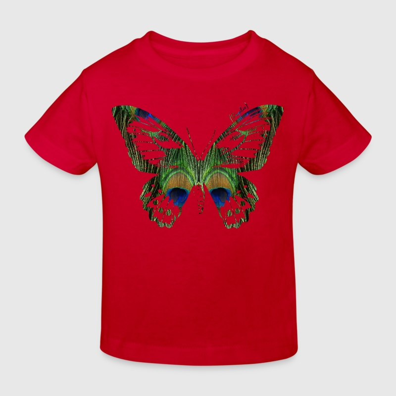 Animal Planet Butterfly - Organic børne shirt