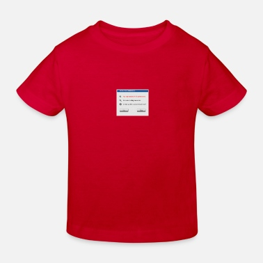 Windows Fix Windows - Kinder Bio T-Shirt
