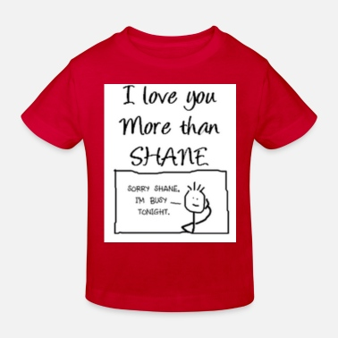 i love shane but ... - T-shirt bio Enfant