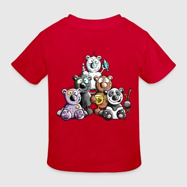 Funny Bears - Kids' Organic T-shirt
