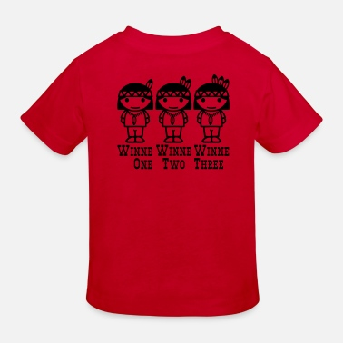 Deux Winne One-Two-Three - T-shirt bio Enfant