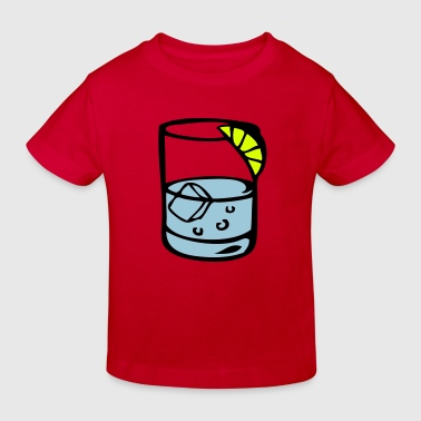 verre glass apero whisky drink1 - T-shirt bio Enfant