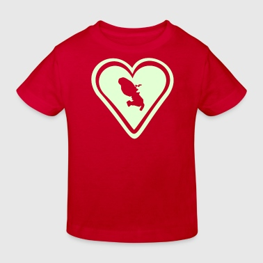 love heart Martinique - T-shirt bio Enfant