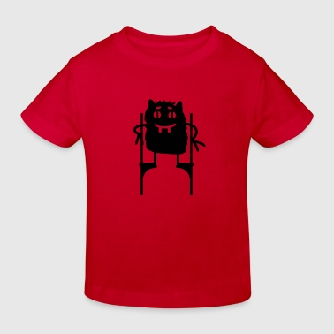 Stelzen Monster - Kinder Bio-T-Shirt