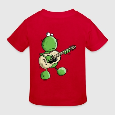 Rock and Pop Frog - Grenouille - T-shirt bio Enfant