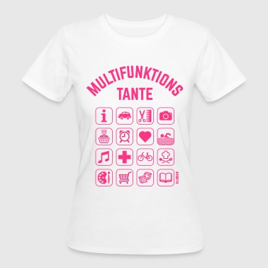 Multifunktions Tante (16 Icons) - Frauen Bio-T-Shirt